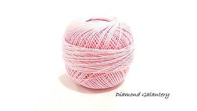 Galantéria - Perlovka - 332 - Ružová - 9747169_
