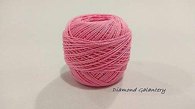 Galantéria - Perlovka - 343 - Svetlo fialkovo ružová - 9747179_