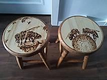 Nábytok - Včelarsky stolček - 9745930_