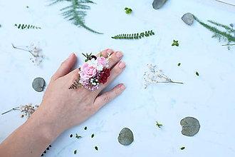 Prstene - Kvetinový prsteň - 9746064_