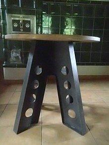 Nábytok - Industrialny stôl - 9745788_