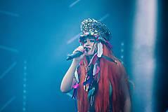Ozdoby do vlasov - Hippie festivalový baret - 9746157_