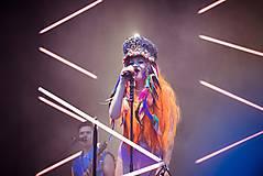 Ozdoby do vlasov - Hippie festivalový baret - 9746161_
