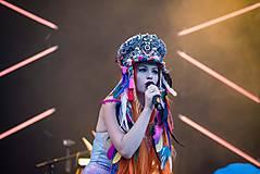 Ozdoby do vlasov - Hippie festivalový baret - 9746163_