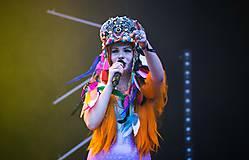 Ozdoby do vlasov - Hippie festivalový baret - 9746165_