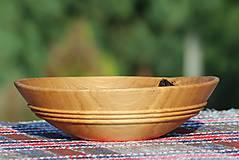 Nádoby - miska z dubového dreva - 9746877_