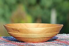 Nádoby - miska z dubového dreva - 9746879_