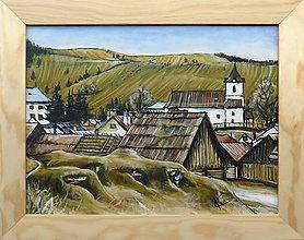 Obrazy - Cestou do dediny (Liptovská Teplička) - 9745292_