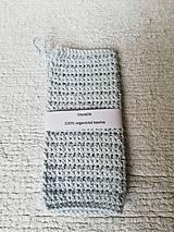 Úžitkový textil - Háčkovaný uteráčik zo 100% organickej bavlny - 9748895_