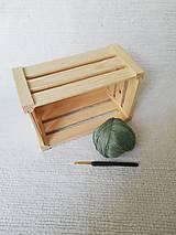 Drobnosti - Háčkované odličovacie tampóny zo 100 % organickej bavlny - obdĺžnikové  (Zelená) - 9749754_