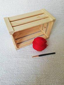 Úžitkový textil - Háčkovaný kúpeľňový set zo 100 % organickej bavlny (Červená) - 9749608_