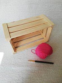 Úžitkový textil - Háčkovaný kúpeľňový set zo 100 % organickej bavlny (Ružová) - 9749609_