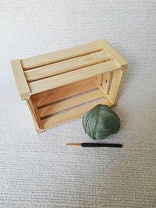 Úžitkový textil - Háčkovaný kúpeľňový set zo 100 % organickej bavlny (Zelená) - 9749611_