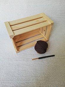 Úžitkový textil - Háčkovaný kúpeľňový set zo 100 % organickej bavlny (Čierna) - 9749634_