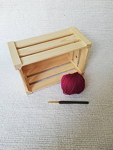 Drobnosti - Háčkované odličovacie tampóny zo 100 % organickej bavlny - obdĺžnikové  (Bordová) - 9749738_