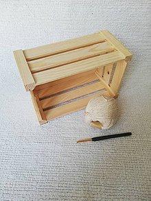 Úžitkový textil - Háčkovaný uteráčik zo 100% organickej bavlny  (Béžová) - 9749803_