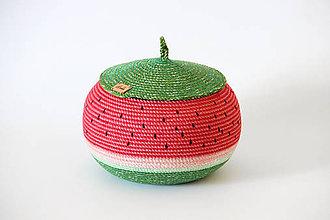 Košíky - Košík melounový - 9748043_
