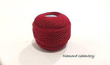 Galantéria - Perlovka - 349 - Karmínová - 9748760_