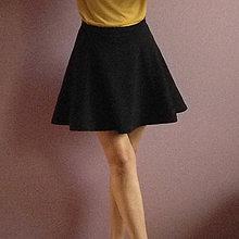 473dd47832d9 Sukne - Polkruhová sukňa z troch dielov - 9749930