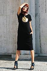 Šaty - FNDLK úpletové šaty 297 RKkL midi - 9748832_