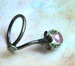 Prstene - Když kvetou růže - prsten - 9749796_