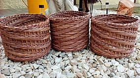 Košíky - Jednoducho košíky na všeličo - 9749526_