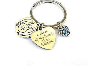 Kľúčenky - kusok mojho srdca... klucenka - 9750002_