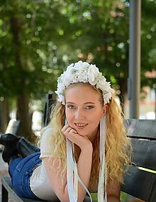 Ozdoby do vlasov - Svadobná parta - 9747806_