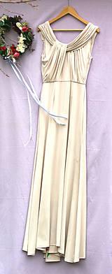 """Šaty - krásne ručne maľované svadobné šaty """"Vintage"""" - 9747992_"""