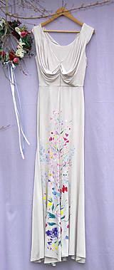 """Šaty - krásne ručne maľované svadobné šaty """"Vintage"""" - 9747997_"""