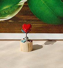 Dekorácie - Dekorácia - Srdiečko šťastia na cestu - Baby verzia - 9749721_