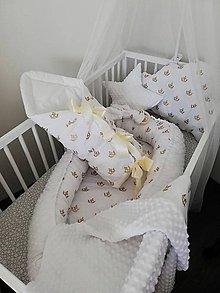Textil - Komplet do postieľky  - 9750254_