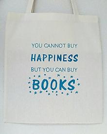 Nákupné tašky - Nákupná taška pre milovníkov kníh - 9748977_