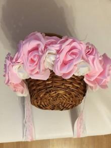 Ozdoby do vlasov - Kvetovaná čelenka - 9750023_