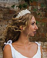 """Ozdoby do vlasov - Svadobná korunka """"láska ako krištáľ"""" - 9748421_"""