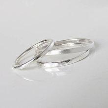 Prstene - MiniMe / Basic (Zvýhodnená cena / 3ks podľa vlastného výberu) - 9748322_