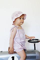 Detské oblečenie - Letné šaty Violet - 9750121_