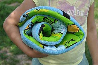 Textil - Obojstranná podložka s fleecom - 9751142_