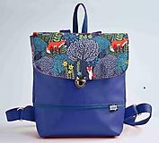 - Hugo Girl batoh modrý (Líštičky) - 9753312_