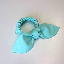 Detské doplnky - gumka do vlasov Mint - 9750699_