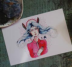 Grafika - Biela Čarodejka - 9751206_