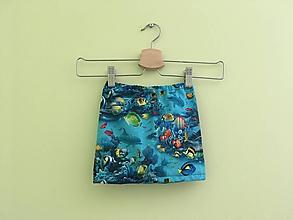 d1cf395bba Detské oblečenie - Suknička Morský svet - 9753236