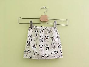 3f2b3116dc Detské oblečenie - Sukňa 101 dalmatíncov - 9753254
