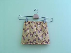 23be8b3438 Detské oblečenie - Sukňa Žirafky - 9753271