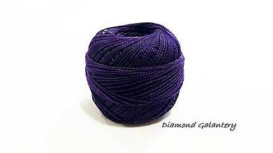 Galantéria - Perlovka - 428 - Modro fialová - 9753325_