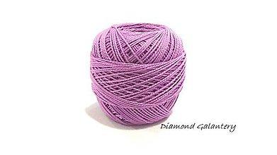 Galantéria - Perlovka - 444- Tmavšia fialová - 9753361_
