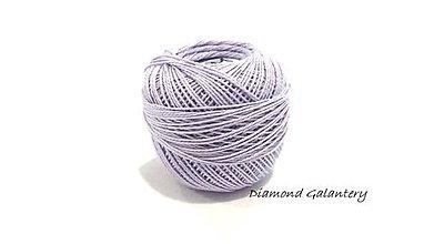 Galantéria - Perlovka - 452- Bledá fialová - 9753369_