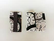 Nákupné tašky - Skladacia eko nákupná taška hodiny - 9752039_