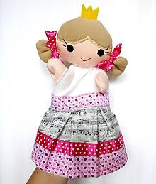 Hračky - Maňuška princezná - Rozália - 9750708_