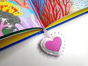 Papiernictvo - Záložka do knihy pre deti (Princess) - 9751654_